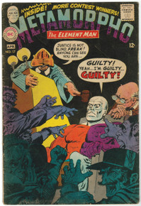 Metamorpho #17 GD Front Cover