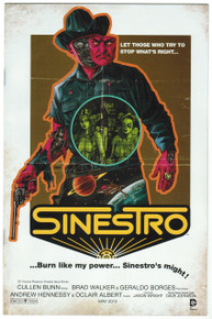 Sinestro #11 NM Movie Poster Variant Front Cover