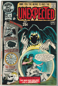 Super DC Giant Unexpected #S-23 FN Front Cover