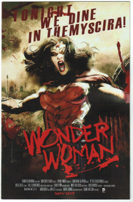 Wonder Woman #40 Movie Poster Variant NM Front Cover