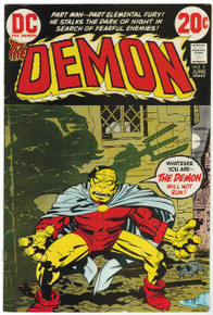 The Demon #9 FN/VF Front Cover