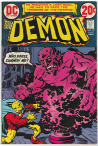 Demon #10 FN Front Cover