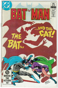Batman #355 VF+ Front Cover