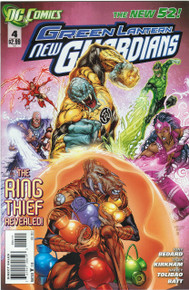 Green Lantern New Guardians #4 NM New 52