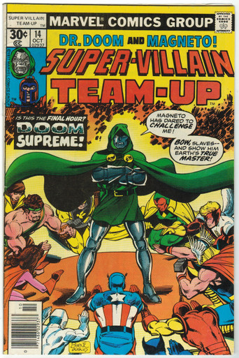 Super Villain Team Up #14 FN Front Cover