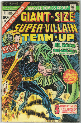 Giant Size Super Villain Team Up #1 GD Front Cover
