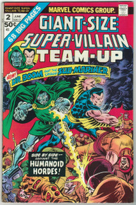 Giant Size Super Villain Team Up #2 VF Front Cover
