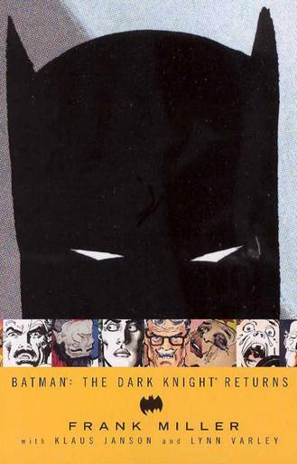 Batman: The Dark Knight Returns TPB Front Cover