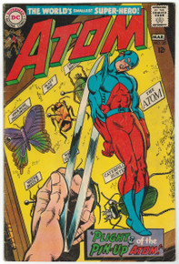 Atom #35 VG Front Cover
