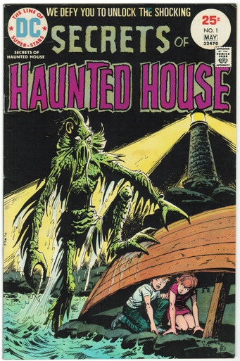 Secrets of Haunted House #1 VF Front Cover