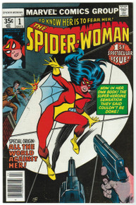 Spider Woman #1 VF/NM Front Cover