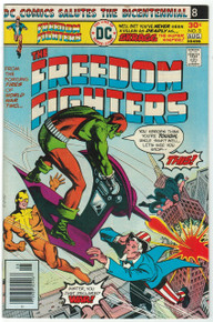 Freedom Fighters #3 FN Front Cover