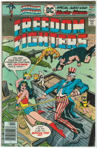 Freedom Fighters #4 FN Front Cover