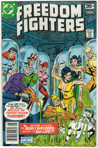 Freedom Fighters #15 VF Front Cover