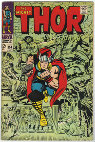 Thor #154 FN Front Cover