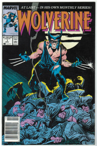 Wolverine #1 VF Front Cover