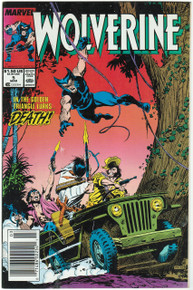 Wolverine #5 VF Front Cover