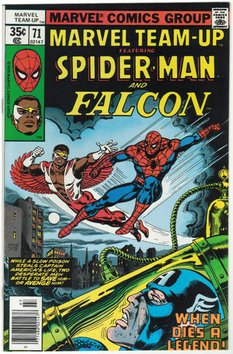Marvel Team Up #71 VF/NM Front Cover