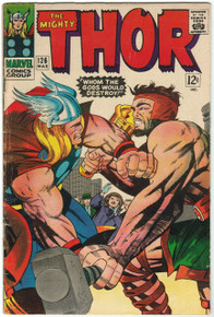 Thor #126 FN Front Cover