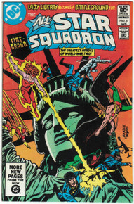 All Star Squadron #5 VF Front Cover