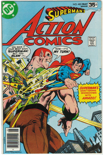 Action Comics #483 VF Front Cover