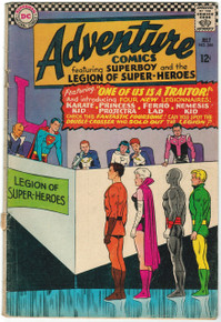 Adventure Comics #346 VG Front Cover