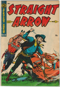 Straight Arrow #28 VG Front Cover