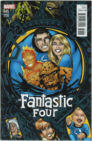Fantastic Four #645 NM Connecting Variant Front Cover
