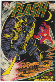 Flash #180 VG Front Cover