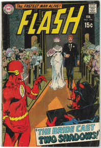 Flash #194 VG Front Cover