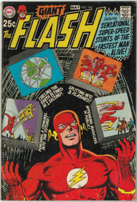 Flash #196 VG Front Cover