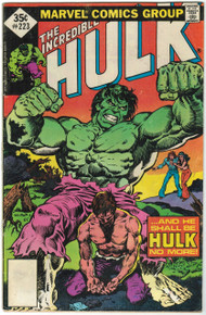 Incredible Hulk #223 VG Front Cover