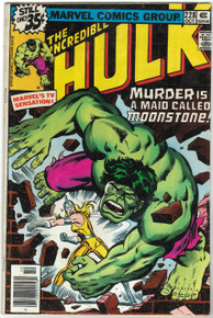 Incredible Hulk #228 VG Front Cover