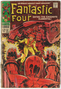 Fantastic Four #81 GD Front Cover