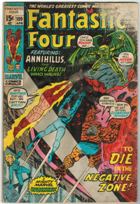 Fantastic Four #109 FR Front Cover