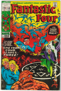 Fantastic Four #110 GD Front Cover