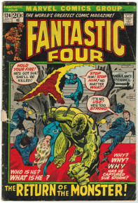 Fantastic Four #124 GD Front Cover