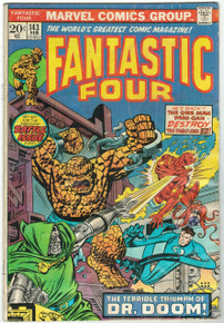Fantastic Four #143 GD Front Cover