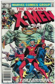 Uncanny X-Men #156 VF/NM Front Cover