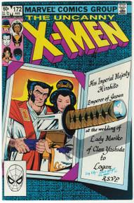 Uncanny X-Men #172 VF Front Cover