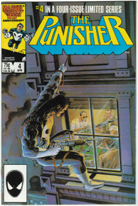 Punisher #4 VF/NM Front Cover