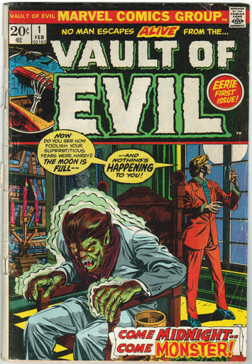 Vault of Evil #1 GD Front Cover