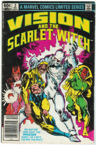 Vision and the Scarlet Witch #2 GD Front Cover