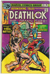 Astonishing Tales #35 GD Front Cover
