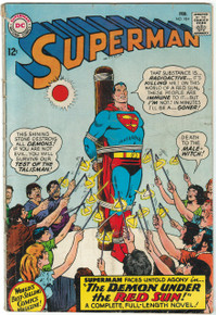 Superman #184 GD Front Cover