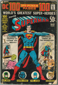 Superman #245 GD Front Cover