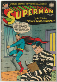 Superman #83 GD/VG- Front Cover
