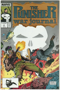 Punisher War Journal #4 VF/NM Front Cover
