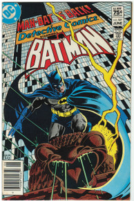 Detective Comics #527 FN Front Cover