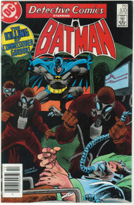 Detective Comics #533 FN Front Cover